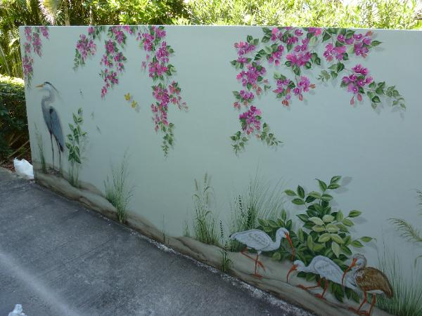 Outside murals ideas gallery for Exterior wall mural